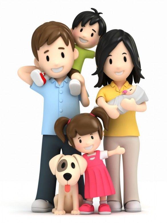 família e cachorrinho