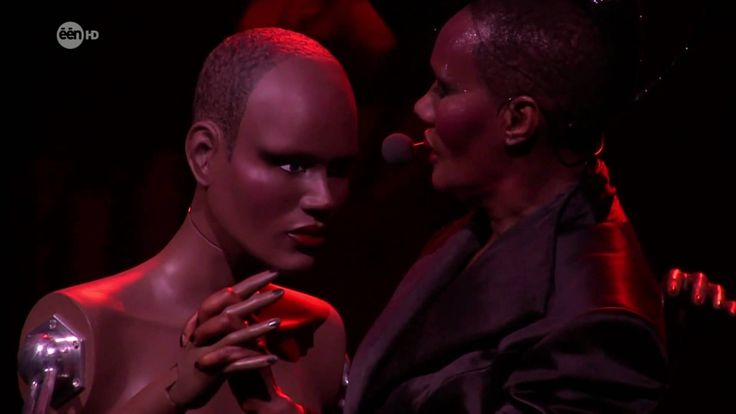 I've Seen That Face Before..... (I did too). Thank you Madame Grace Jones ! All my love for you !