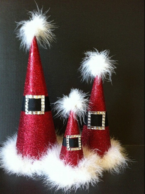 1000 Images About Christmas Ideas Santa Hats On Pinterest