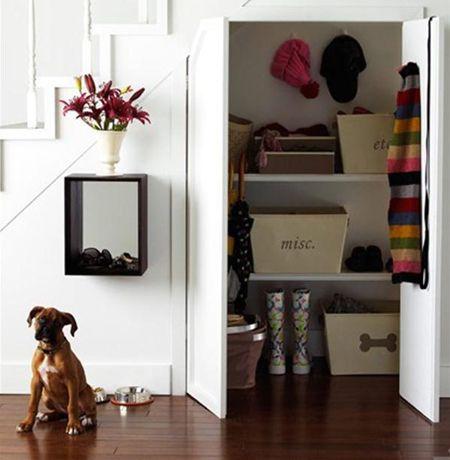 Hidden Closet   via FreshHome.com   House & Home