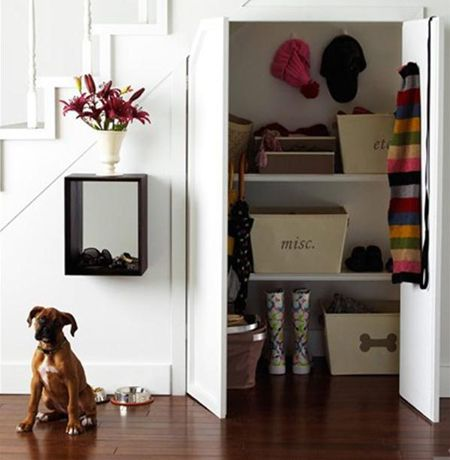 Hidden Closet | via FreshHome.com | House & Home