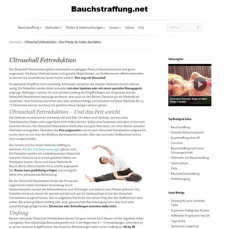 Nervige Fettpolster können aus vielen Gründen entstehen. Wenn diese auch durch Sport nicht verschwinden wollen, erwägen viele Menschen eine Bauchstraffung.  Durch einen kleinen Eingriff lassen sich Fettpolster und Bindegewebsschwäche,den sogenannten Hängebauch entfernen.  http://www.bauchstraffung.net