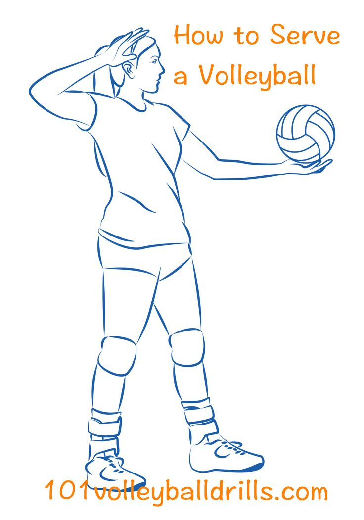 Give your team the advantage with all of the info needed to become an accurate and powerful server.  Learn the fundamentals of all volleyball serves from underhand to the jump serve. #volleyball #volleyballserve #floatserve #jumpserve