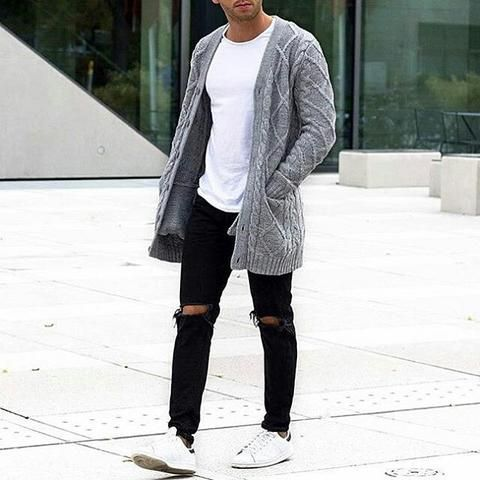 how to wear white t shirt this winter.. #mens #fashion #style