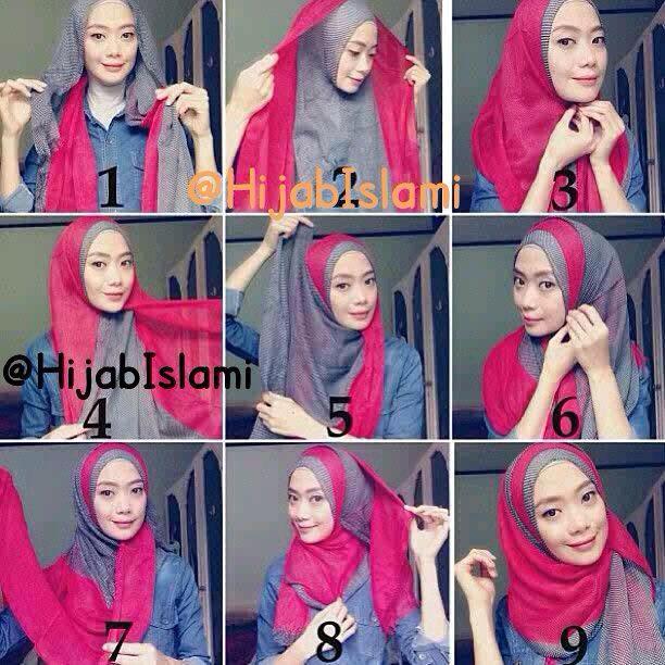 Hijab style tutorial