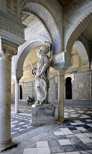 Casa de Pilatos Palace, Sevilla, Andalucía, Spain