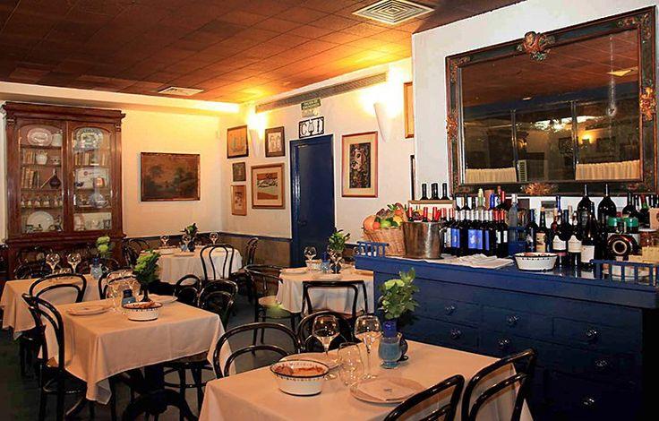 Madrid. Restaurante Sacha. Platos de siempre, comida tradicional.