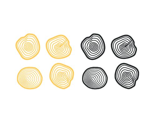 Tree Ring Branding - Icon for logo by Lucas Jubb