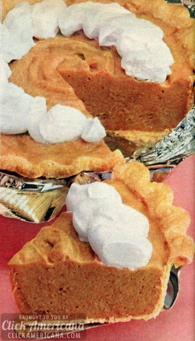 Pumpkin Chiffon Pie-this is what we had every Thanksgiving! It's incredible!