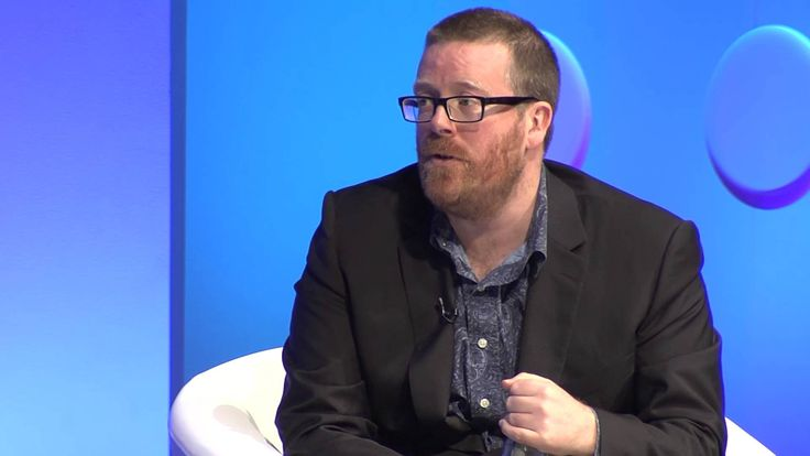 """""""Satire in Britain has been the establishment voice...saying ridiculous things...you have to be within the establishment to do that...that to me doesn't really challenge anything""""  GEITF 2014 - Frankie Boyle: State of the TV Nation"""