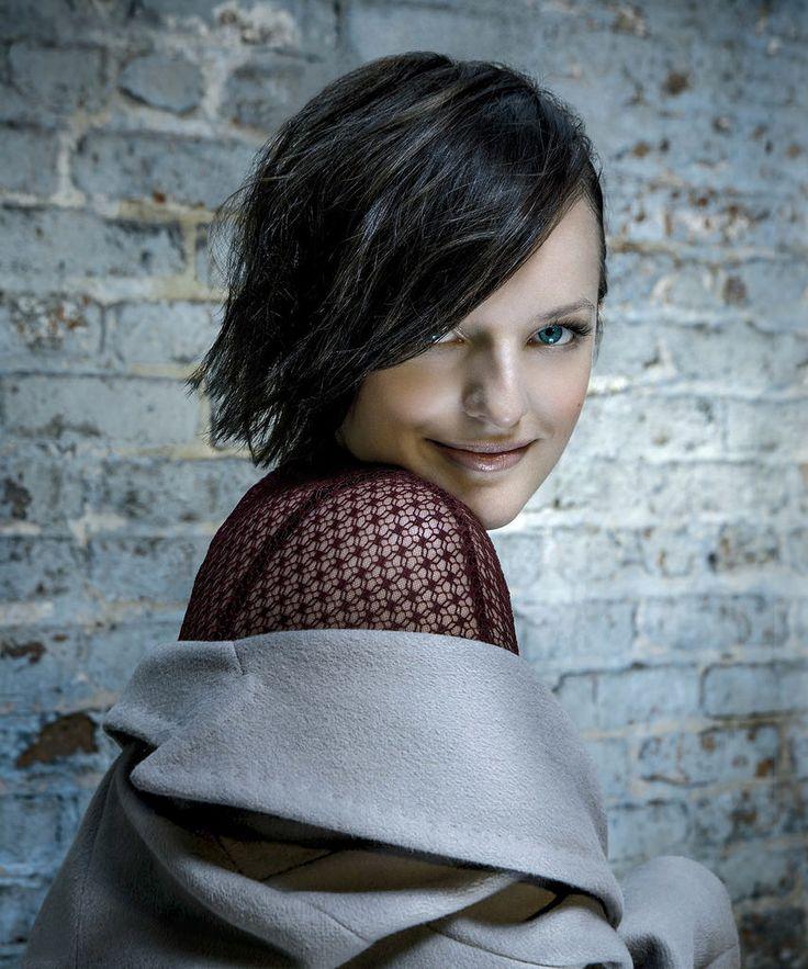 Элизабет Мосс — Фотосессия для «Gotham» 2014