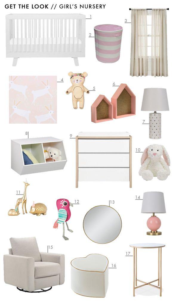 Target Pillowfort Get The Look Baby Girls Pink Nursery Emily Henderson