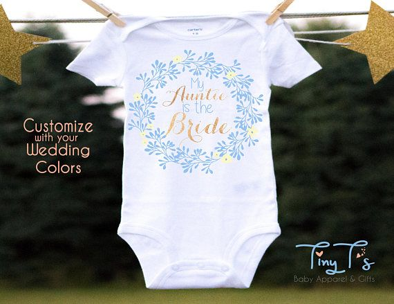 c73a09ee4 Wedding Outfit Niece, Baby Wedding Onesies®, Baby Flower Onesies®, Wedding  Onesie®, Flower Girl Gifts, Personalized Wedding Baby Girl Outfit | Cute  Baby ...