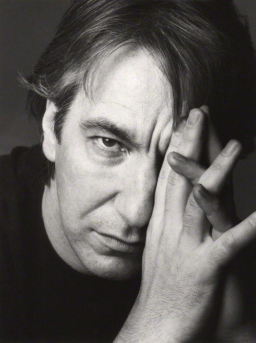 Alan Sidney Patrick Rickman born 21 February 1946 in Hammersmith, London, England