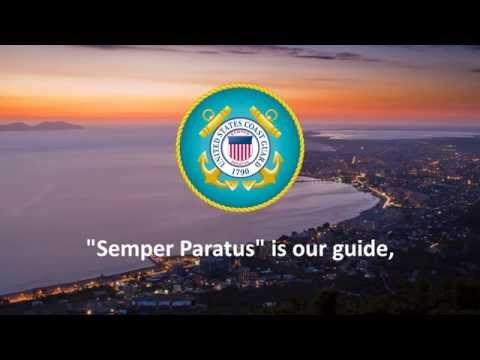 Semper Paratus - United States Coast Guard Marching Song - YouTube
