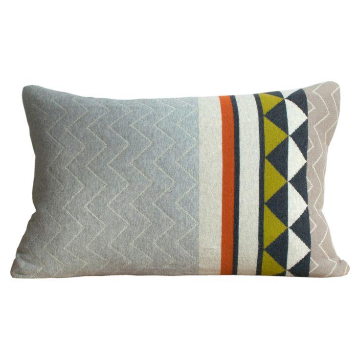 Vilma Knit Cushion, 38x58cm, Nature