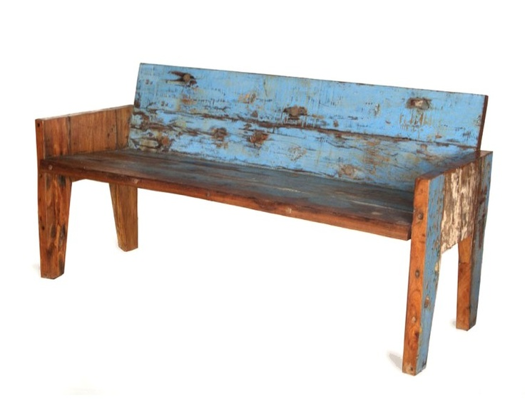This eco-friendly reclaimed wood Rio Bench gives guests a place to chat, have a drink or put up their feet. Price $787.50