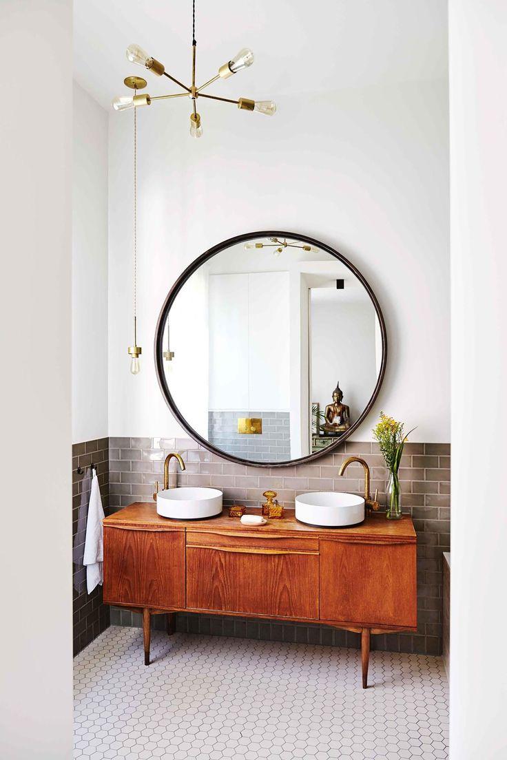 17 Frische und inspirierende Badezimmerspiegel-Ideen, die Ihre morgendliche Lippenstift-Routine aufmischen