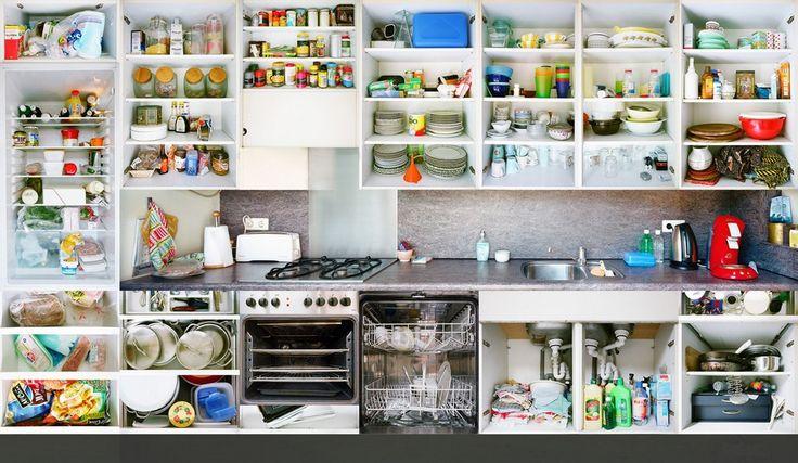 Kitchen Portraits by Erik Klein Wolterink