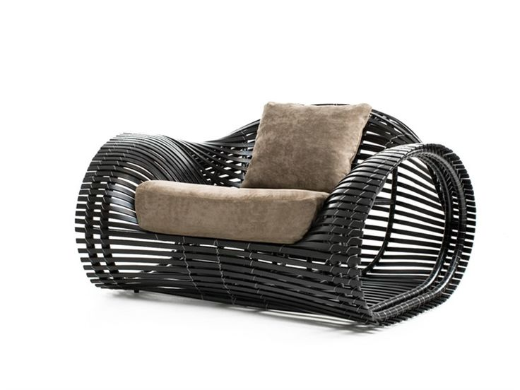 Kenneth Cobonpueu0027s Award Winning Lolah Chair Reflects The Filipino Concept  Of Transparency Interpreted In Rattan And Metal Framework.
