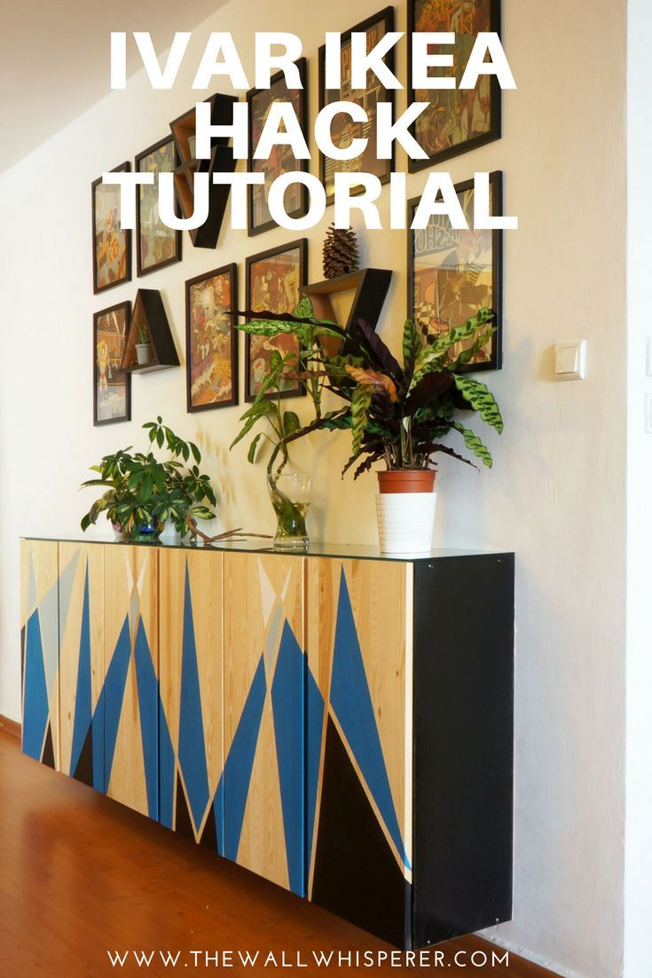 Ivar Ikea Hack Tutorial How To Transform The Simple Furniture Units Into A Fab Statement Element