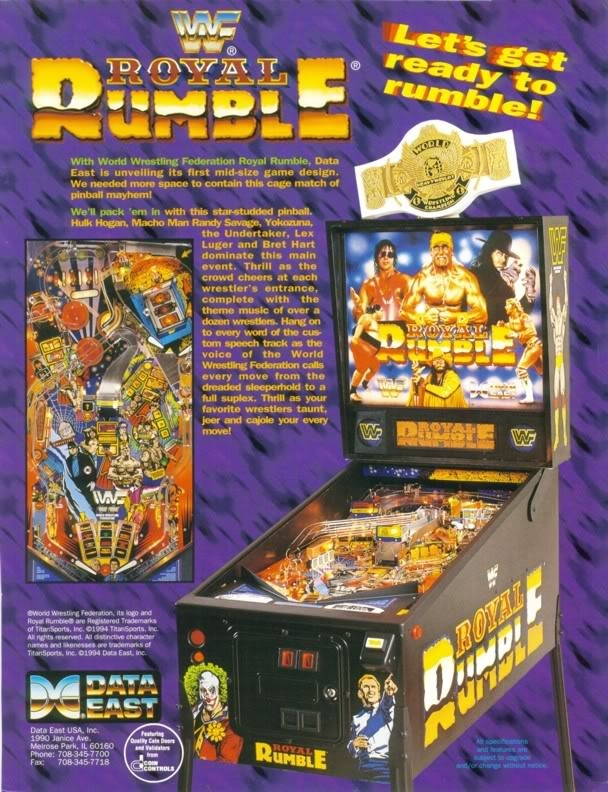 Data East WWF Royal Rumble 1994