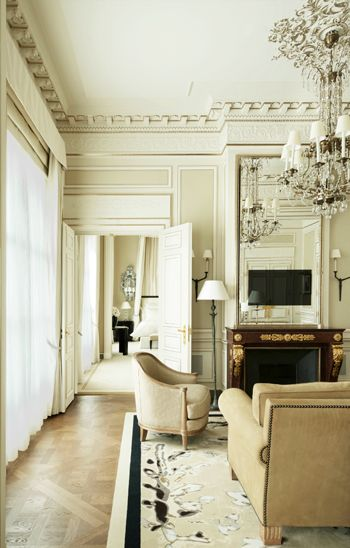 f4fc22efc1bf The Coco Chanel Suite at the Ritz Paris