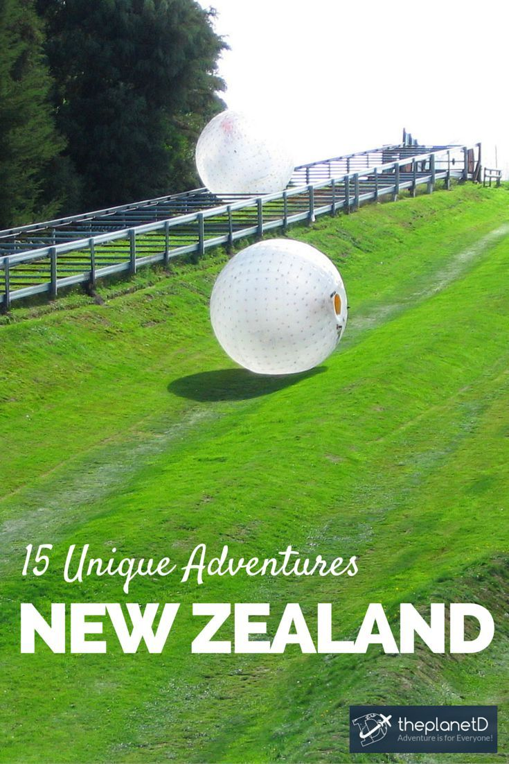 15 Unique Adventures in New Zealand | The Planet D Adventure Travel Blog | We know how overwhelming trip planning can be, so to help you out, we thought we'd share our favourite activities from our travels through the country. | The Planet D Adventure Travel Blog: