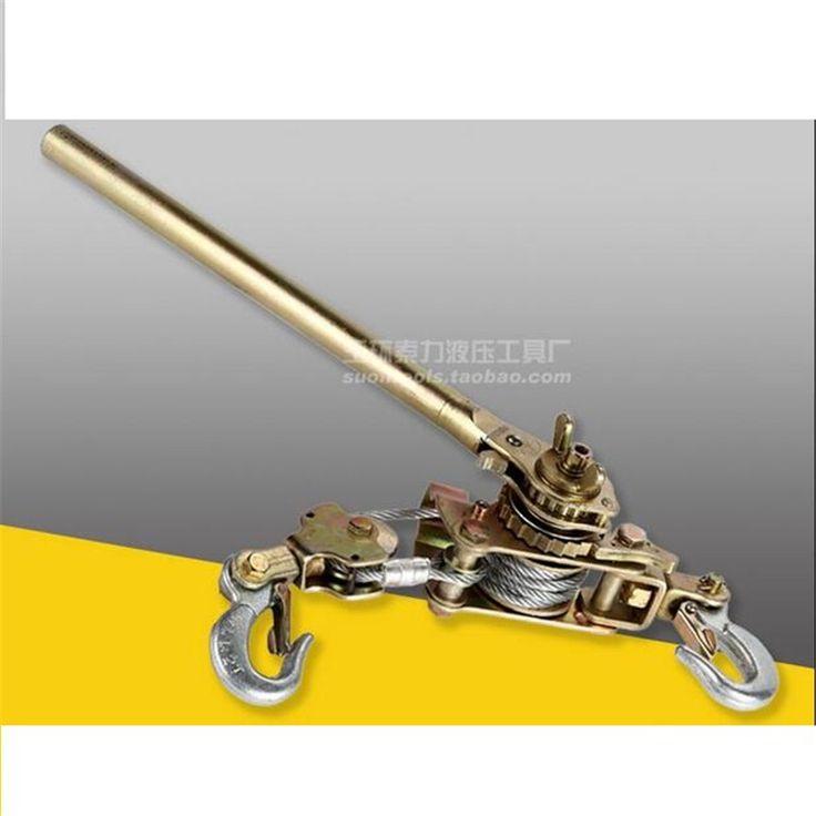 2 T Ratchet Kabel Puller JX-20 Strakke Lijn Apparaat Spanners Draad Kabel Trekkers