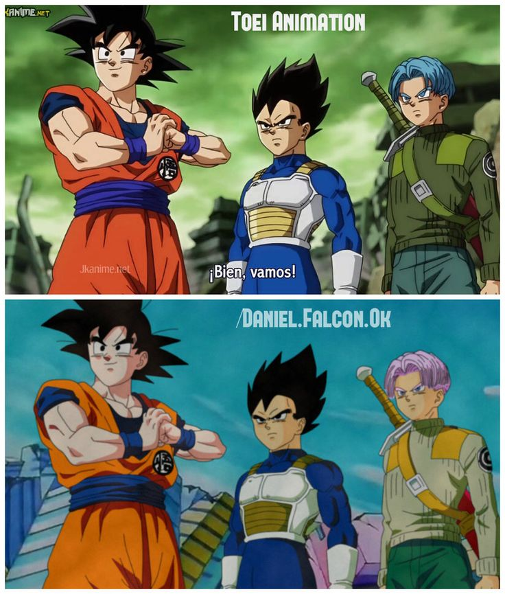 Dragon Ball Super animated in the classic DBZ style! Found by: #SonGokuKakarot