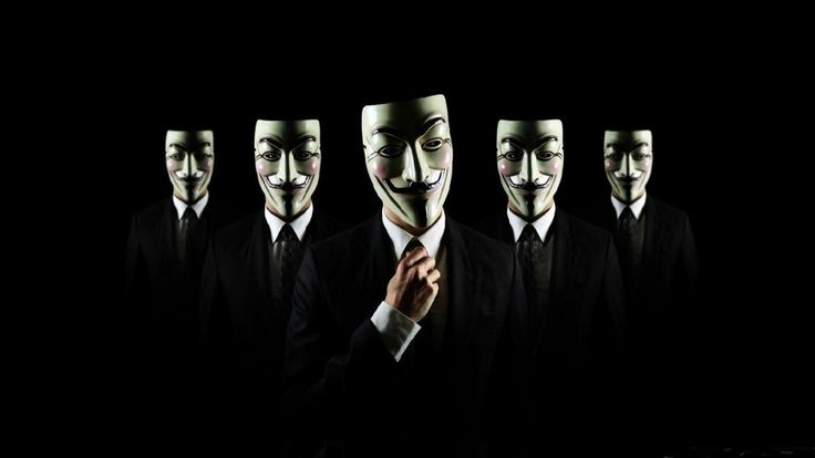 Attachment file of Cool Desktop Wallpapers with Anonymous Mask