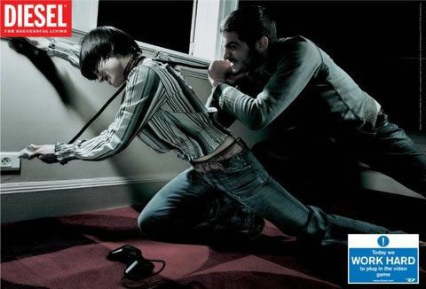 Diesel ad » adverbox