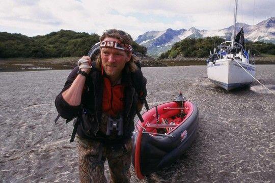 Andreas Kieling in Aktion. Am 1. Januar zeigt das ZDF Aufnahmen des Tierfilmers aus Patagonien