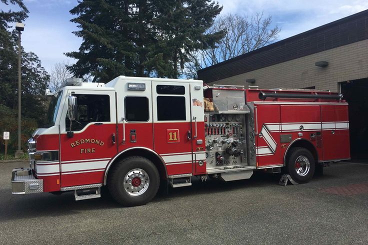 Redmond (WA) Fire Department Takes Delivery of Three
