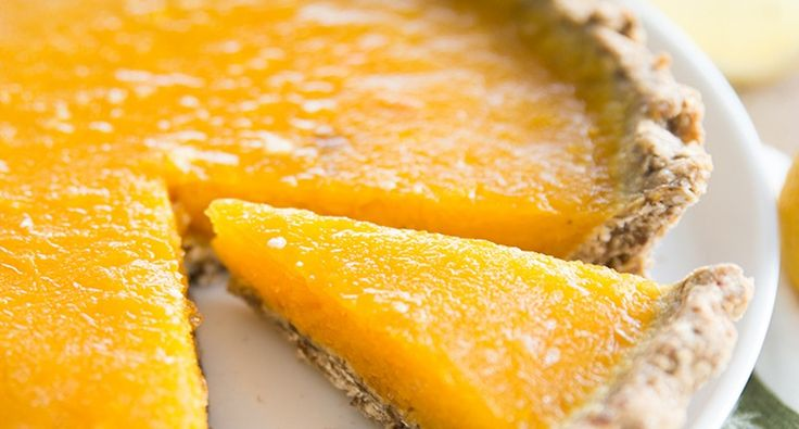 Citroen mango taart