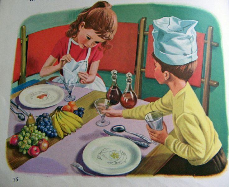 отличается других сюжетные картинки моет посуду других