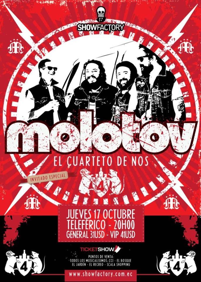 Molotov y Cuarteto de nos - Quito 2013