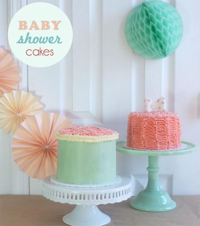 baby shower cakes // alanajonesmann.com