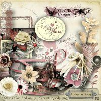 G & T DESIGNS LOVE IS EVERYWHERE ADD ON KIT