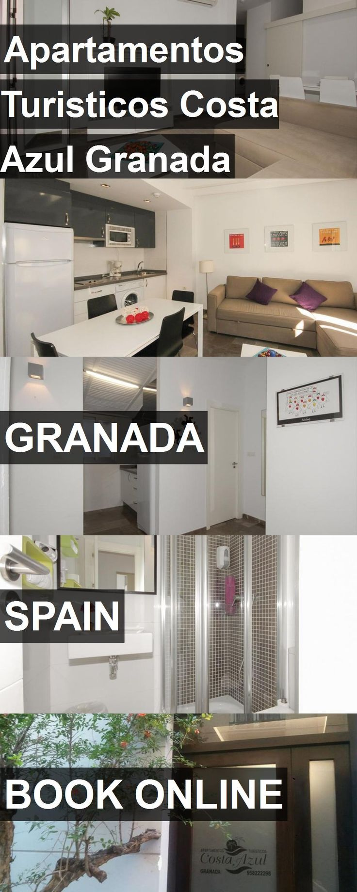 Hotel Apartamentos Turisticos Costa Azul Granada in Granada, Spain. For more information, photos, reviews and best prices please follow the link. #Spain #Granada #travel #vacation #hotel