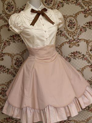 'Mary Magdalene' puff sleeve yoke blouse @ http://lolibrary.org/node/2180