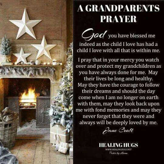 Grandparents are a blessing for us