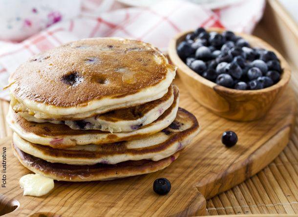 Deliciosos y nutritivos hot cakes de avena y amaranto o blueberries | Revista CiudadYOGA