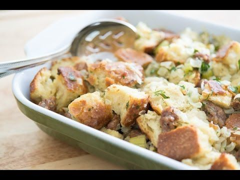 The Best Thanksgiving Stuffing Recipe, with a little help from @swansonbroth !!