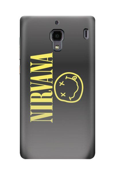 """Xiaomi Redmi Nirvana Case by Distro Ocean, the iconic Nirvana """"Smiley Face"""" logo with crossed-out eyes and drooling mouth print, this case also available for iPhone 4/4s, 5/5s/5c, Samsung Galaxy Note 2, 3, Samsung Galaxy S3, S4, S5, Samsung Galaxy Grand. http://www.zocko.com/z/JGkh5"""