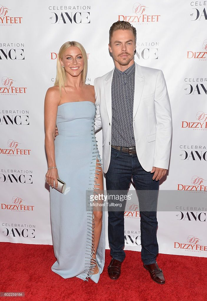 Professional dancers Julianne Hough and Derek Hough attend the 6th Annual Celebration of Dance Gala presented by The Dizzy Feet Foundation at The Novo by Microsoft on September 10, 2016 in Los Angeles, California.