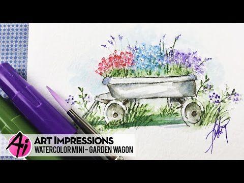 Art Impressions Blog: NEW VIDEO - Garden Wagon Mini Set