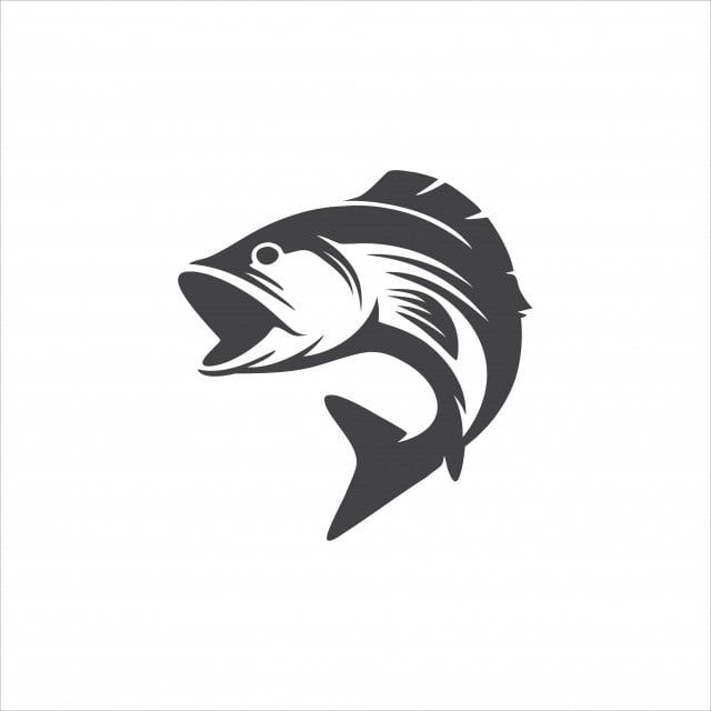 Fish Logo Vector Design Icon Fish Icon Sign Png And Vector With Transparent Background For Free Download Fish Logo Fish Silhouette Fish Icon