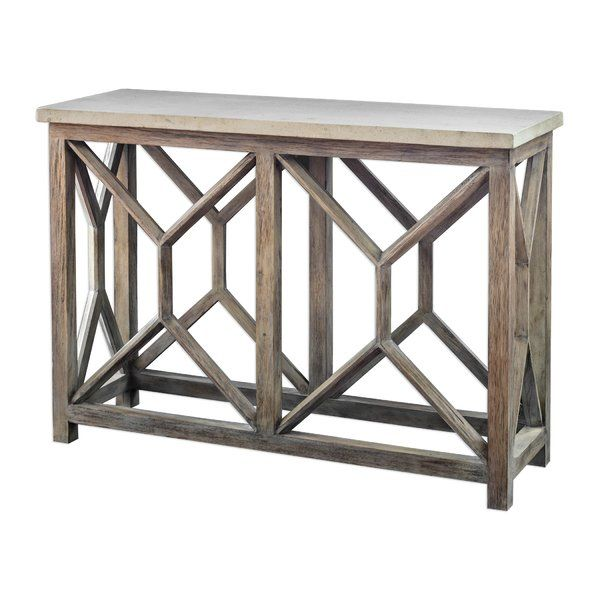 Niemann 41 Console Table Outdoor Console Table Wood Console Table Console Table