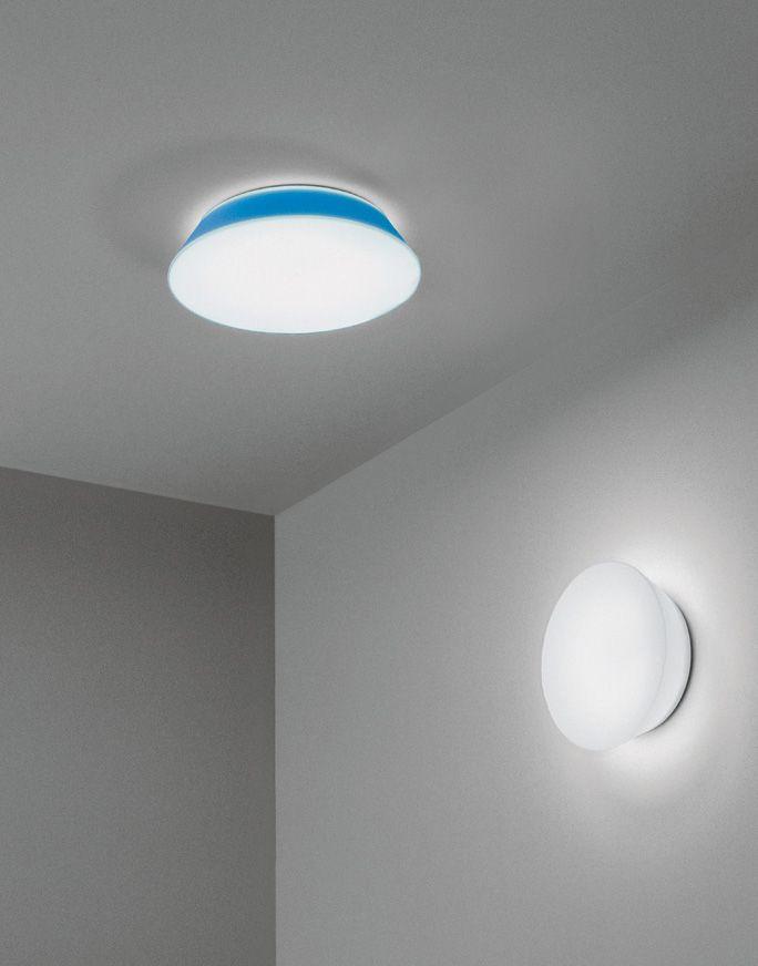 CONCA - Un piatto luminoso che decora la parete. (Conca W1/W2)